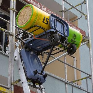 Lastenaufzug für Baustellen