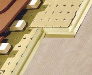 thermische Isolierung / Polyurethanschaum / Innenbereich / steife Platten