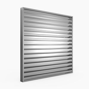 Aluminium-Lüftungsgitter