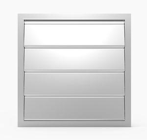 Aluminium-Lüftungsklappe