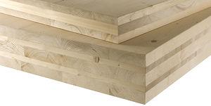 Paneel für Bauanwendungen / Laminat / aus Holz / Wand