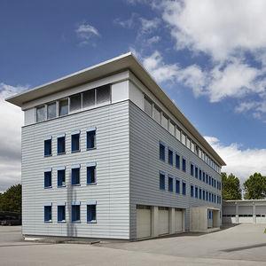 Fertigbau-Gebäude