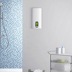 elektrischer Warmwasserbereiter / wandmontiert / vertikal