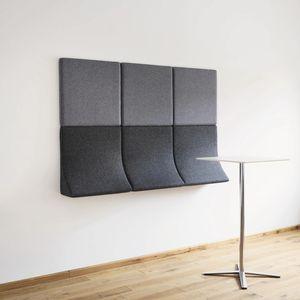 modulare Polsterbank / originelles Design / Stoff / für Schönheitssalon