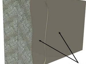 Fassaden-Flüssigkeitsabdichtung