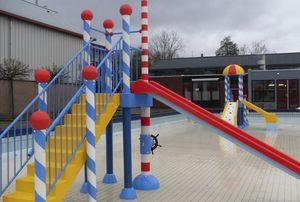 Spielturm für Kinder-Planschbecken