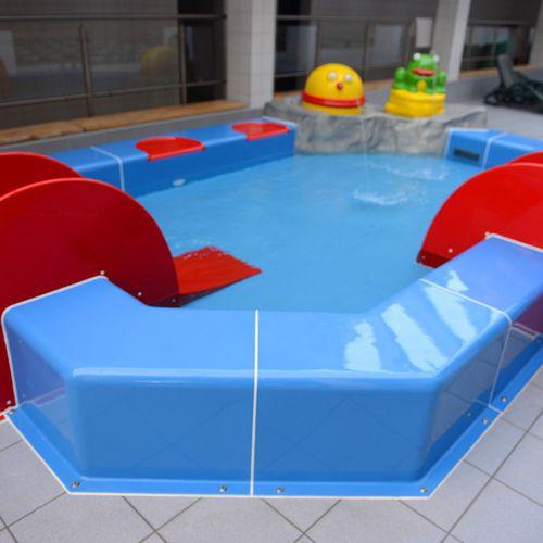 Schwimmbecken zum Aufstellen / Kunststoff / für Aquapark / für Kinder