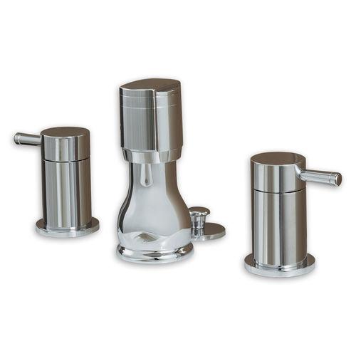 Mischbatterie für Bidet / freistehend / Edelstahl / Badezimmer