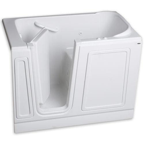freistehende Badewanne / aus Acryl / Türen / behindertenfreundlich