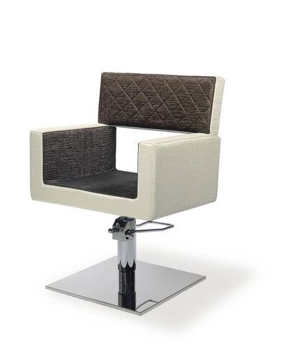 Fusspflegestuhl mit Wellnessbecken / Leder