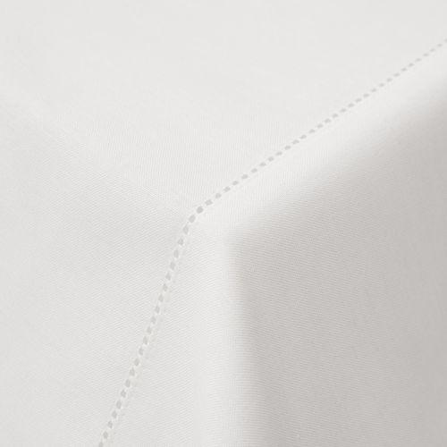 Gardinenstoff / uni / Polyester / Leinen