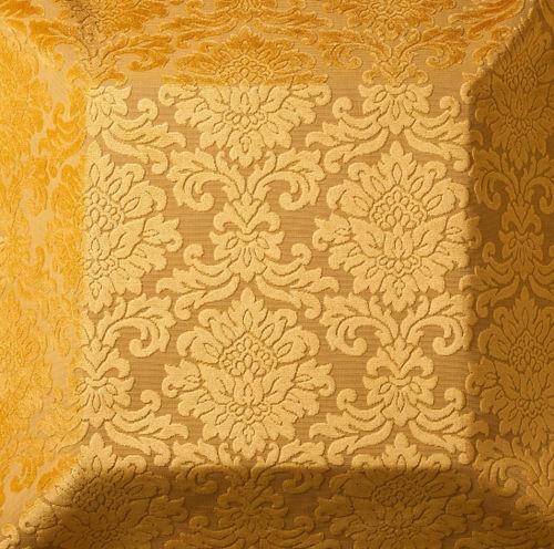 Möbelstoff / Damast Motive / Polyester / Viskose