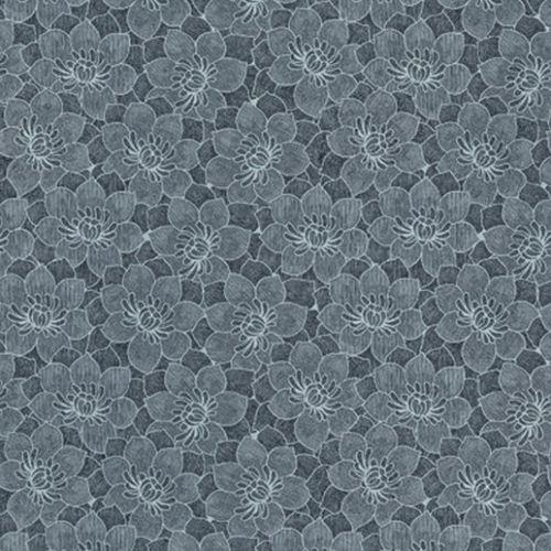 klassische Tapete / aus Zellulosefaser / Blumenmuster