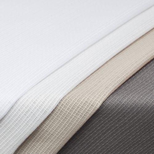 Gardinen-Gewebe / uni / Polyester / 100% Recycling