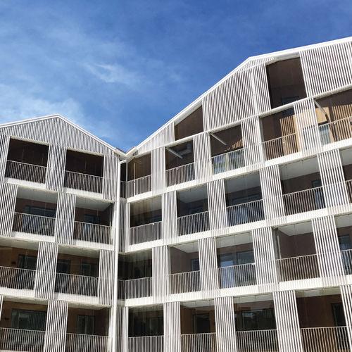 Keramik-Fassadenverkleidung / matt / Hochglanz / Platten