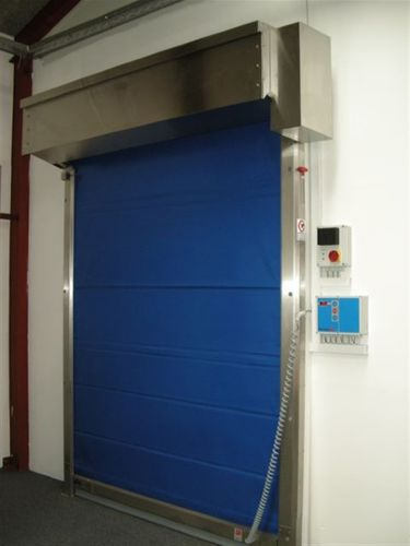 Roll-Industrietor / PVC / für Kühlkammern / Schnell