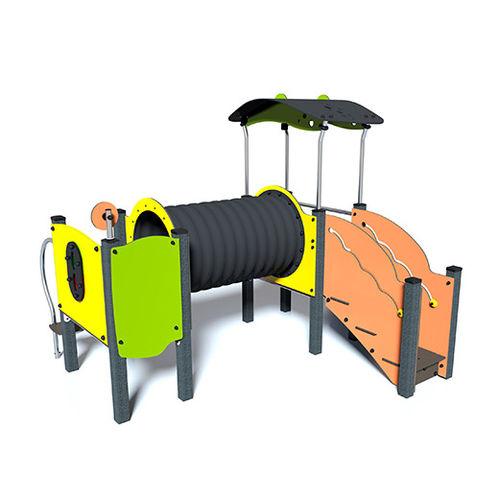 Spielplatzgerät für Spielplätze / Holz / modular
