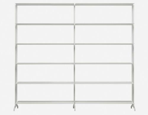Modulregal / modern / Aluminium / aus MDF