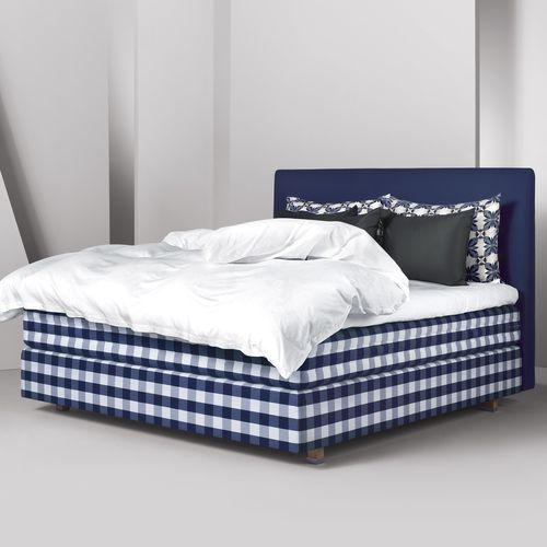 Doppelbett / modern / Polster / Baumwolle