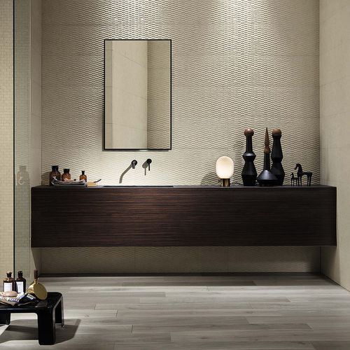 Innenraum-Fliesen / Wand / Keramik / 30x90 cm