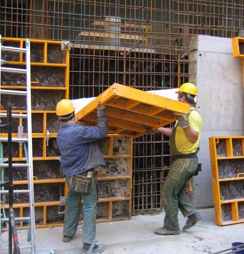 Modulschalung / Rahmen / Leichtbau / Metall