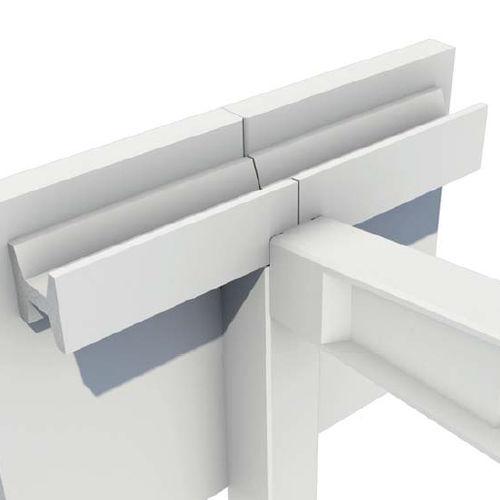 quadratische Regenrinne / Stahlbeton