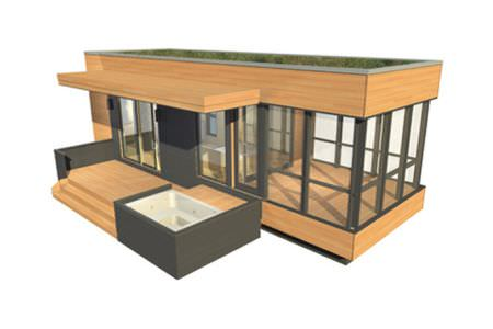 Fertigbau-Mikrohaus