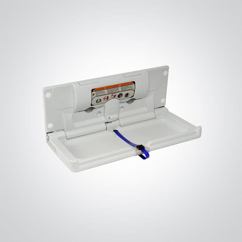 Kunststoff-Wickelstation / wandmontiert / Objektmöbel