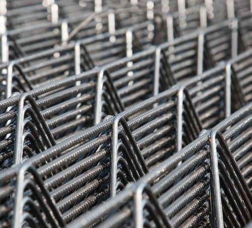 Armatur für Stahlbeton Betonstahlmatte