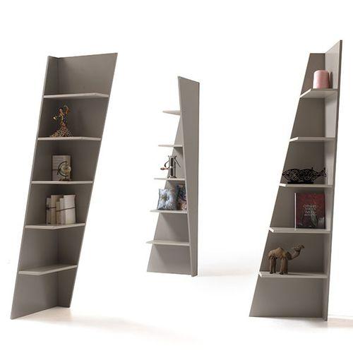 moderne Bibliothek / lackiertes MDF