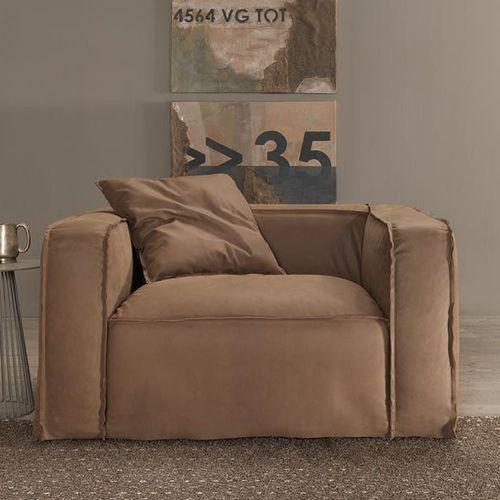moderner Sessel / Polyurethanschaum / mit abnehmbarem Bezug