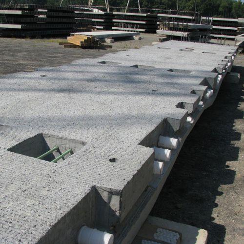 Stahlbetonbodenplatte