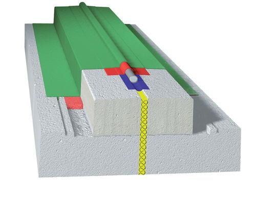 PVC-Dehnungsfuge / für Wände