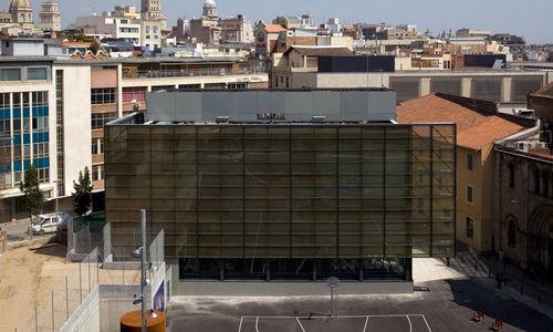 Fertigbau-Gebäude / Beton / für Bibliotheken / modern