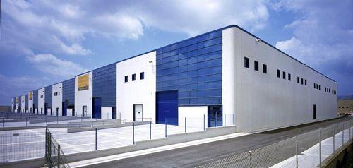 Fertigbau-Gebäude / Beton / für industrielle Nutzung / modern