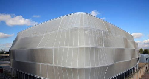 Membran-Architektur / Glasfaser