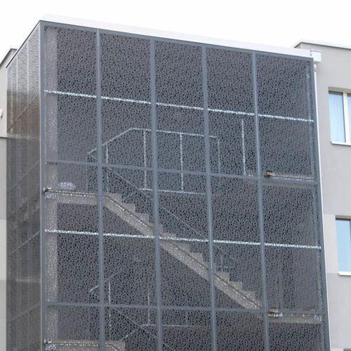Aluminium-Geländer / Platten / Geländer / Außenbereich