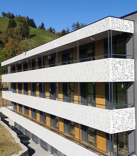 HPL-Geländer / Platten / Außenbereich / für Balkon