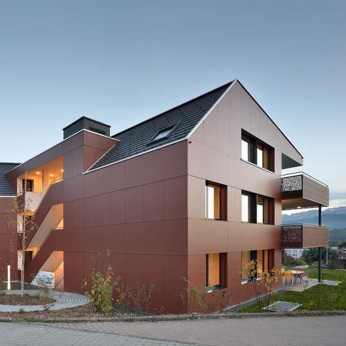 Fassadenverkleidung für hinterlüftete Fassade - Bruag AG