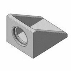 Stahlbeton-Stirnmauer