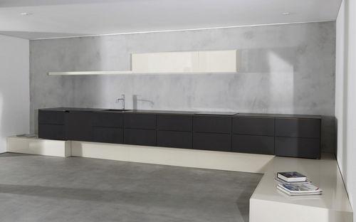 moderne Küche / Verbundwerkstoff / Modul / lackiert