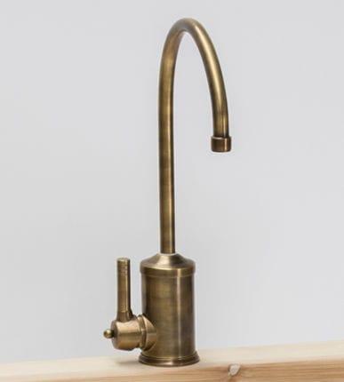 Einhebelmischer für Theken / Metall / Küchen / 1-Loch