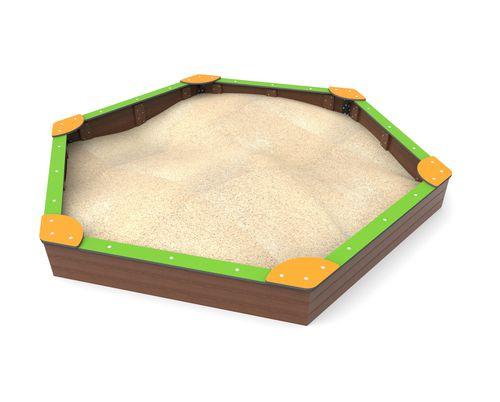 Sandkasten für Spielplätze