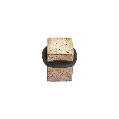 Bronze-Türstopper