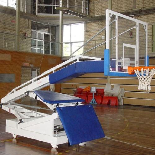 mobiler Basketballkorb