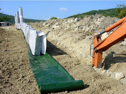 Gabione für zur Bodenstabilisierung