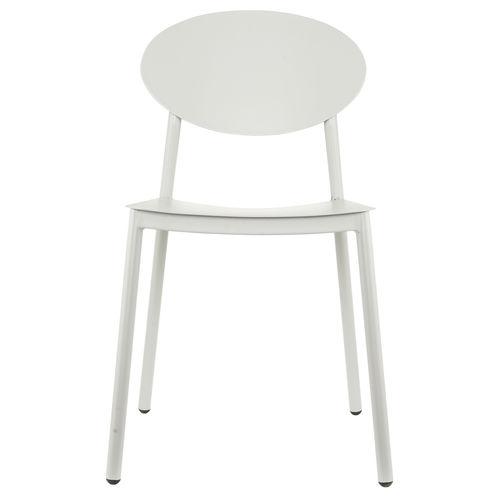 moderner Stuhl / Aluminium / Außenbereich