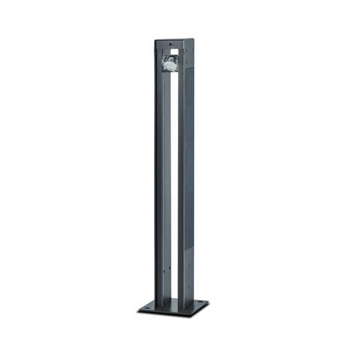 Leuchtpoller für öffentliche Bereiche / modern / Metall / LED