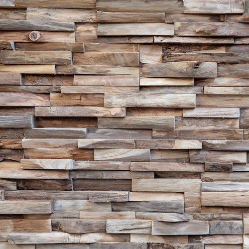 Holz-Wandverkleidung - Teakwall