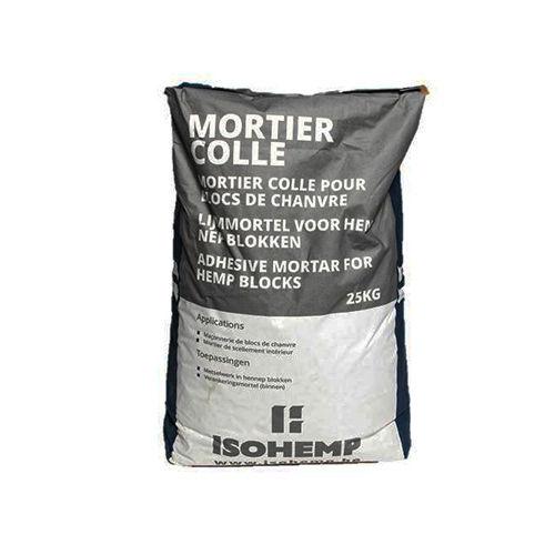 Montage-Klebemörtel / für Mauerwerk / hydraulischer Kalk / mineralisch